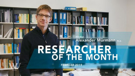 Alex Mürmann researcher of the month